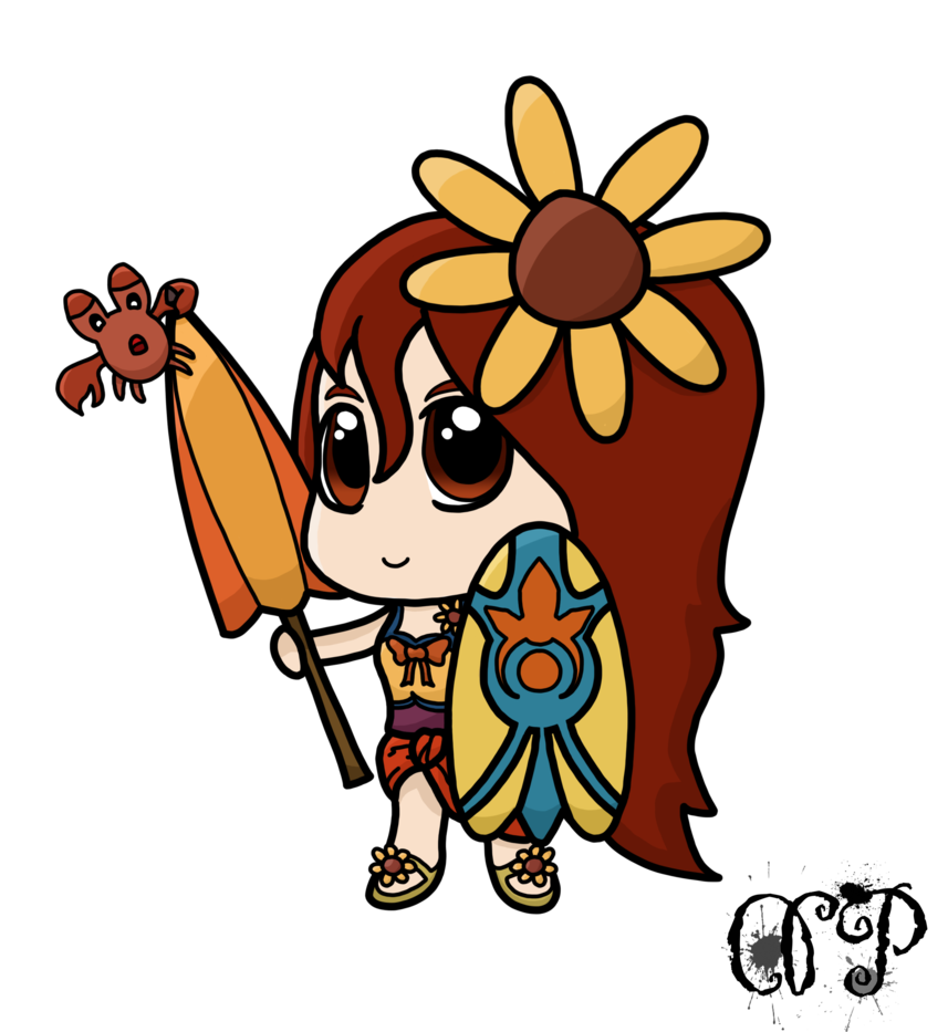 Pool party leona png. By dipieronovita on deviantart