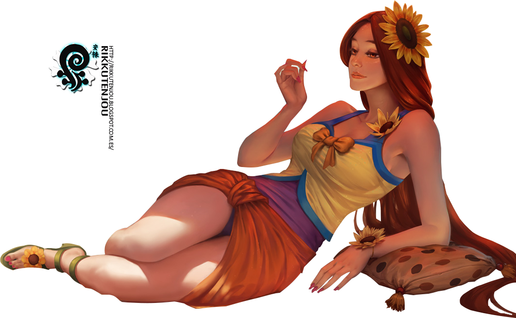 Pool party leona png. Render league of legends