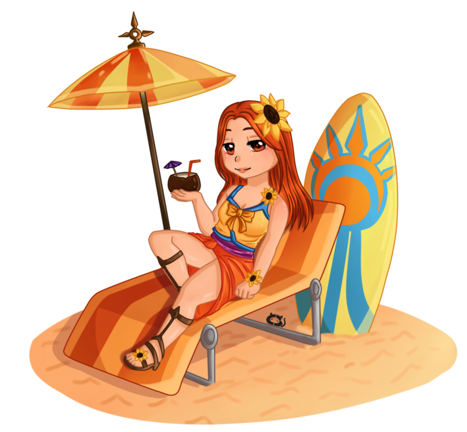 Pool party leona png. By cera miaw on