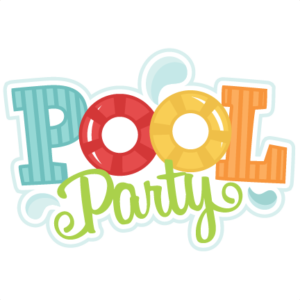 Pool party png. Changing date on the