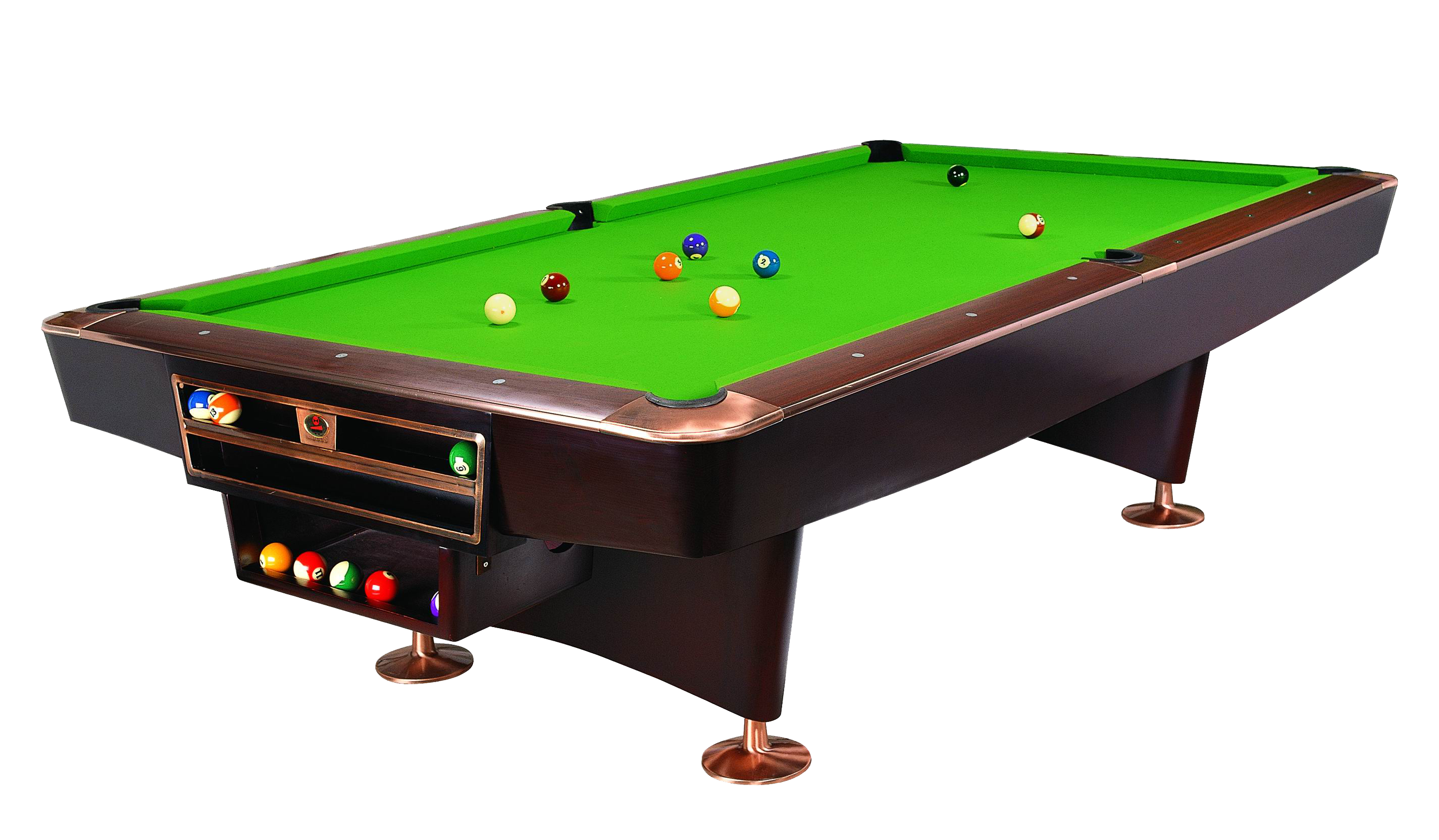 Pool table top view png