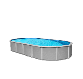 Pool transparent 24 ft. Above ground pools family
