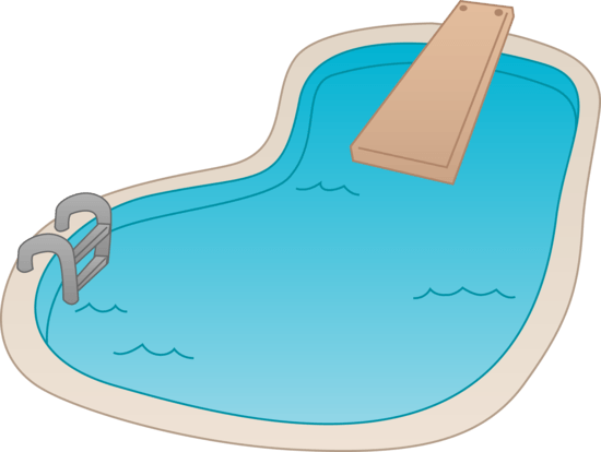 Pool transparent illustration. Free swimming cliparts download