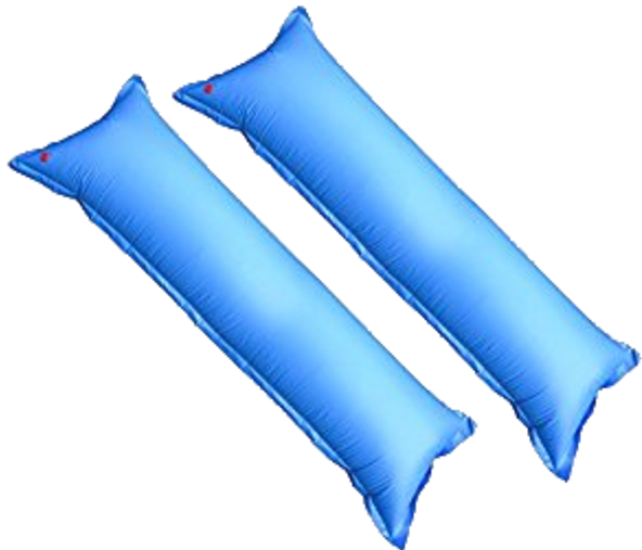 Pool transparent air. Swimming pillows for above
