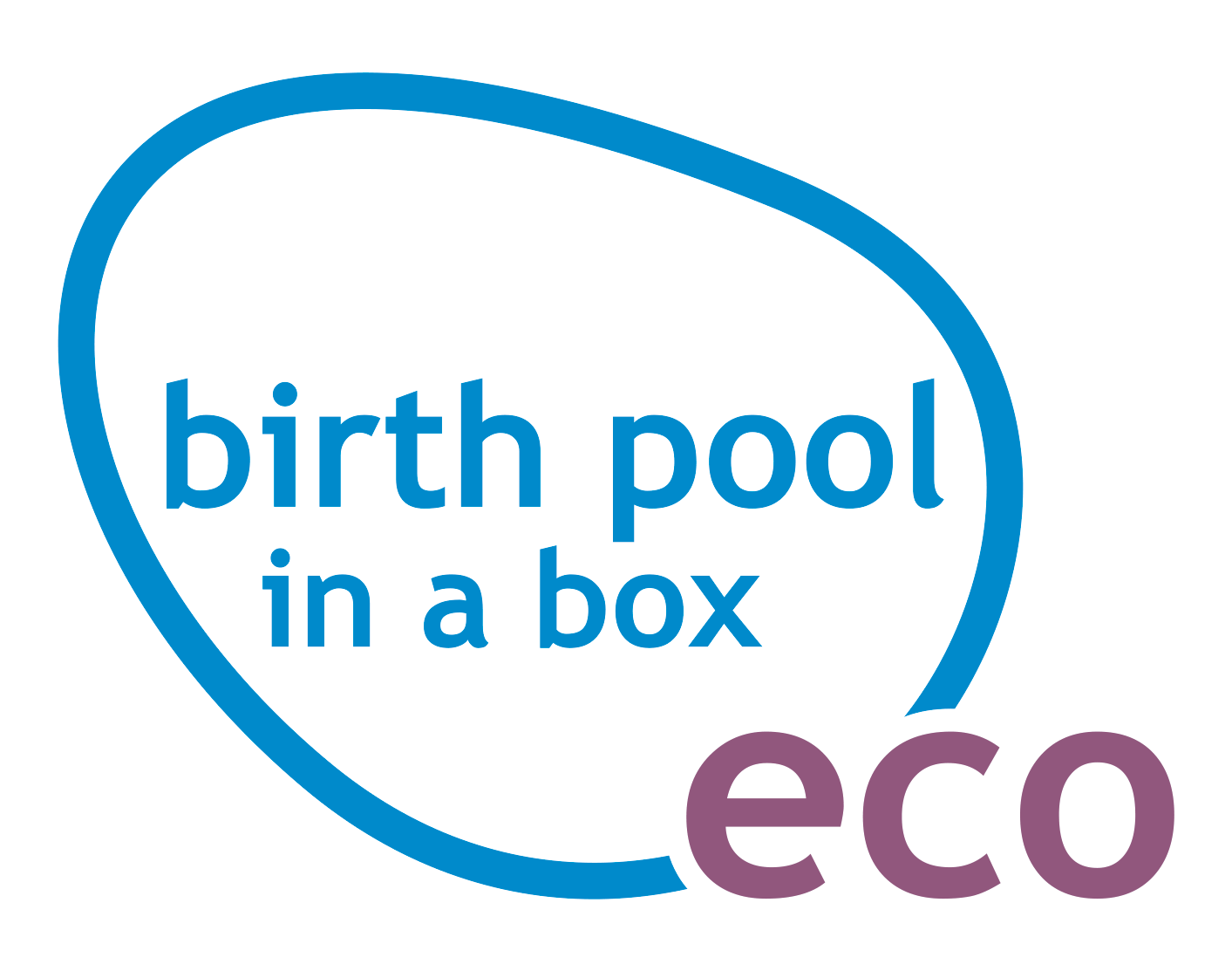 Pool transparent big fancy. Home birth in a