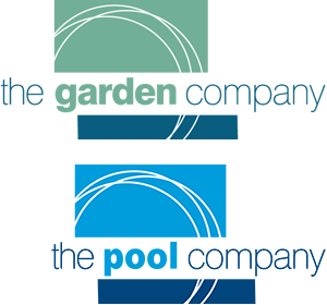 Pool transparent cantilevered. The garden company