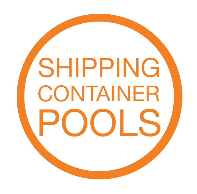 Pool transparent connex. Shipping container pools faviconico