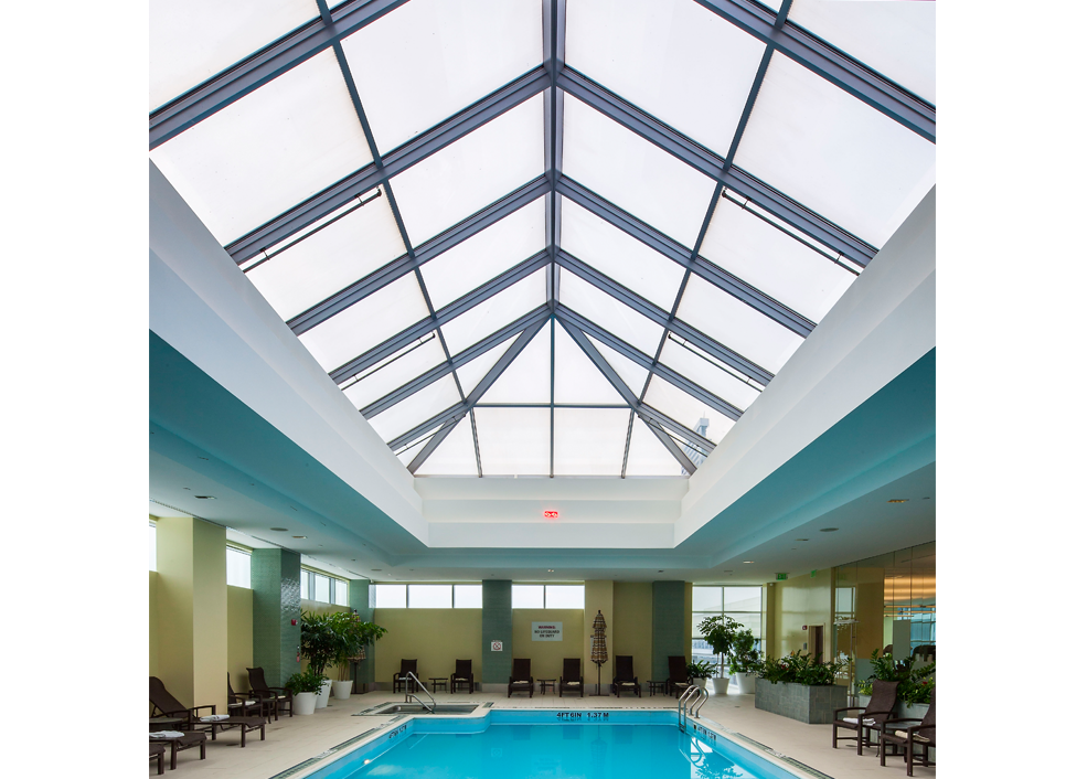 Pool transparent glass roof. Skylights archives ipswich bay