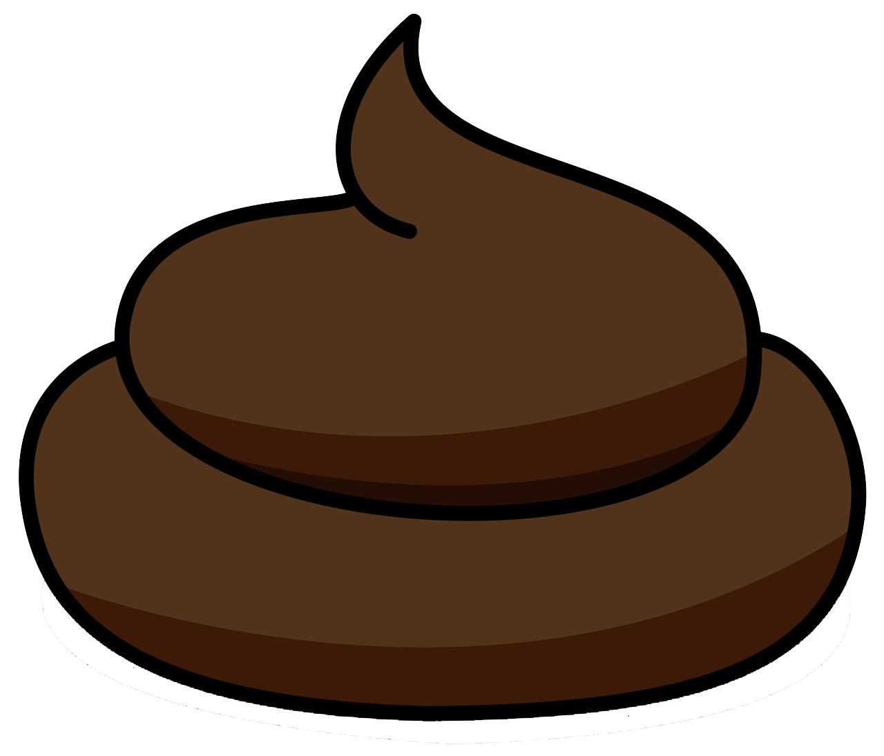 Chocolate puddle png