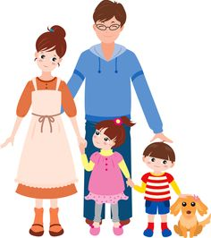 Poor clipart happy family. Png pinterest clip