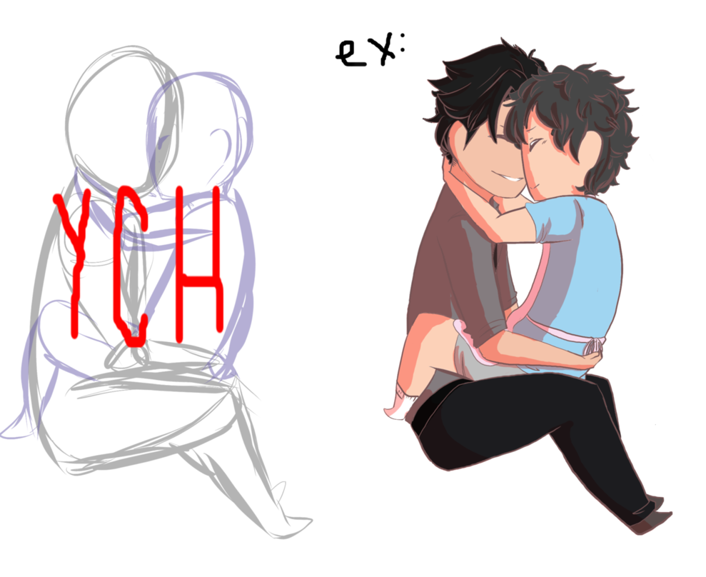 Poor drawing couple. Chibi ych open by