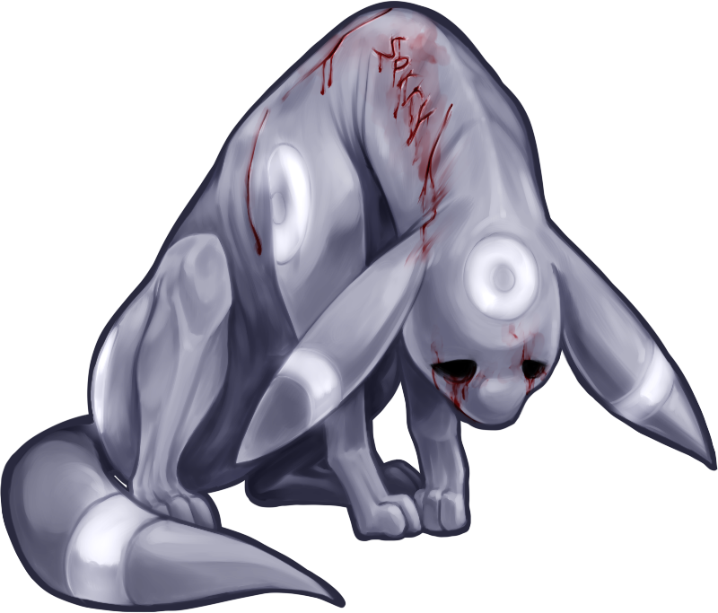 Poor drawing sad. Thing umbreon by stalkernitro