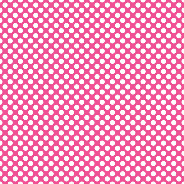 Pop art background dots png. Polka in french pink