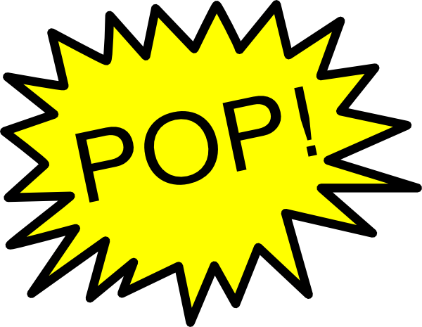 Pop clipart transparent stock