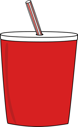 Straw clipart. Cup panda free images