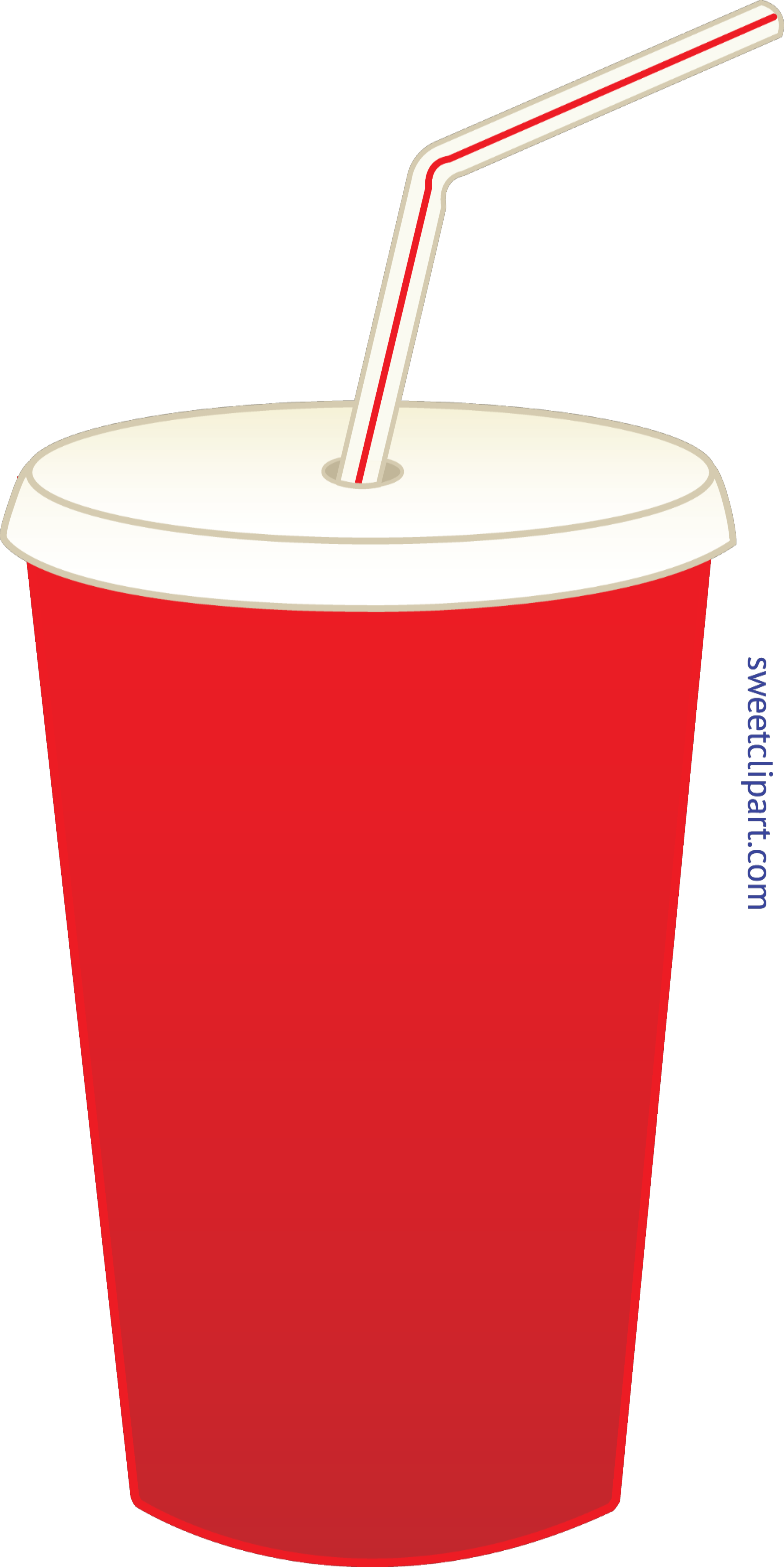 Pop clipart drinking. Soda in cup clip