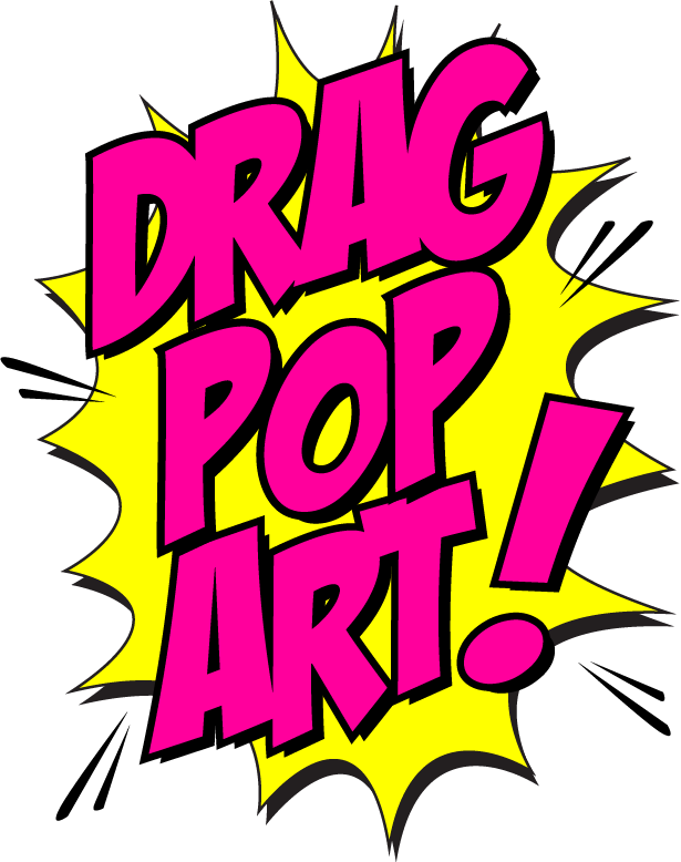 rupaul drawing pop art