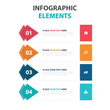 Pop vector infographic. Advertising png images vectors