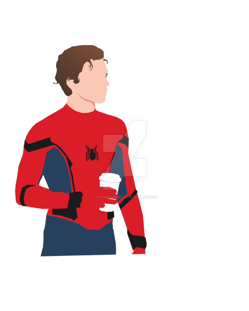 Pop vector person. Tom holland popart by