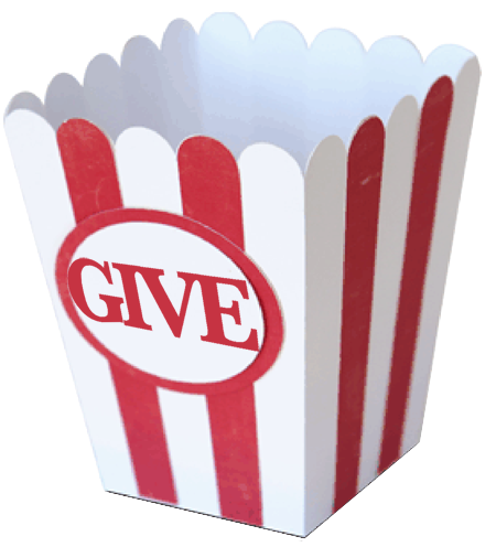 Popcorn boxes png. Desirable at your service