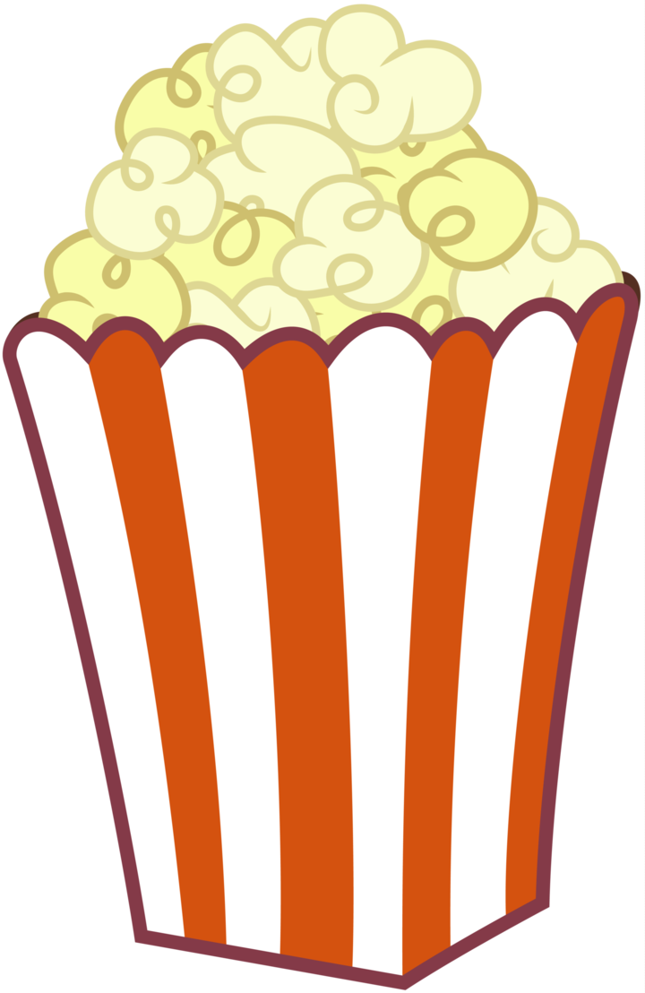Popcorn clipart. Image of cartoon images
