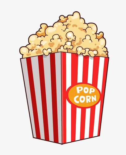 Popcorn clipart. Collection of png