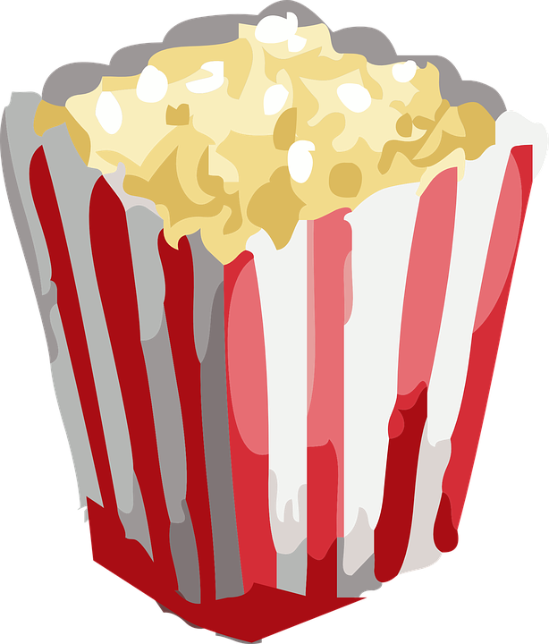 Popcorn clipart border. Snack cliparts shop of