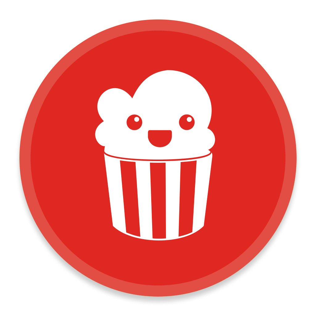 Popcorn time icon png. Popcorntime button ui requests