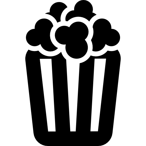 Popcorn vector png. Icon page svg