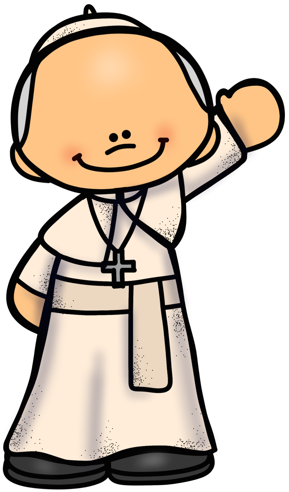 Pope clipart. Educlips design free graphic
