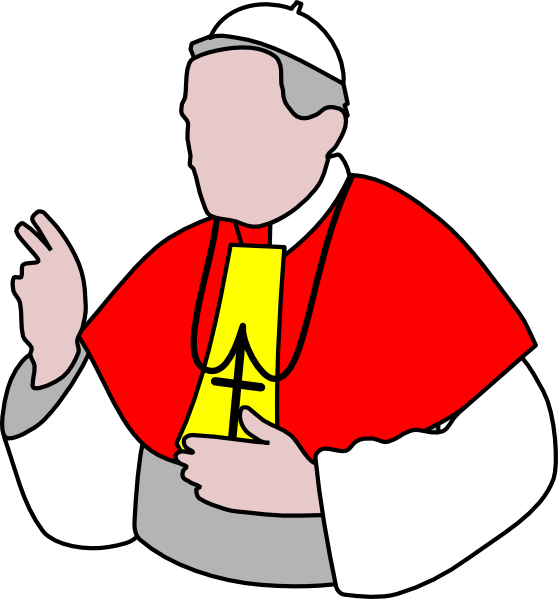 Pope clipart. Clip art at clker