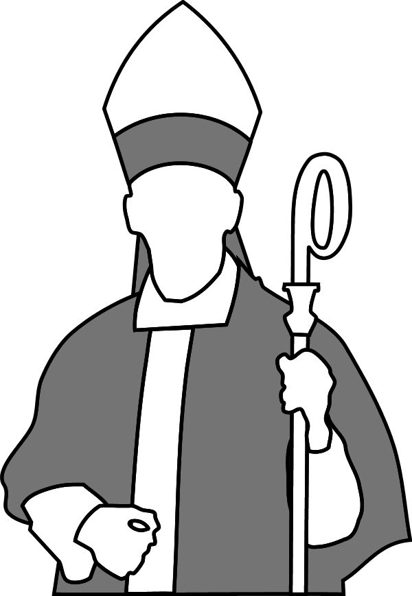 monkas clipart parish priest
