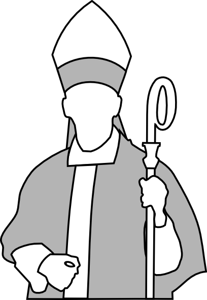 Pope clipart animated. Bishop clip art at
