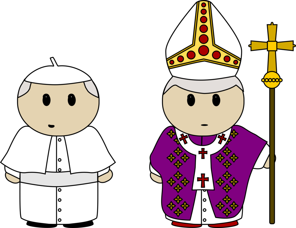 Pope clipart church clothes. Catholicism christian cross computer