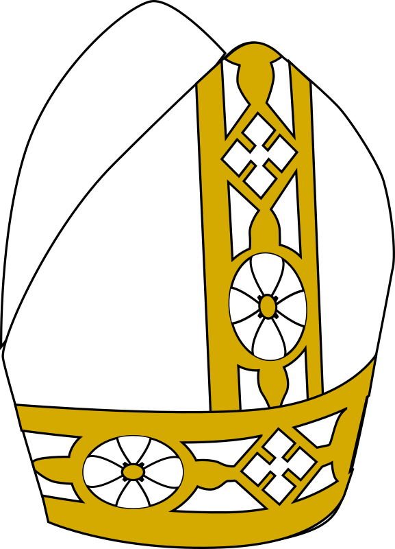 priest clipart pope hat