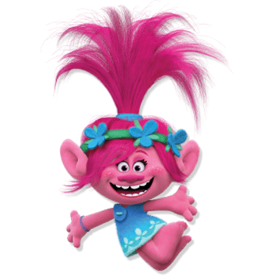 Poppy and branch png. Trolls transparent images stickpng
