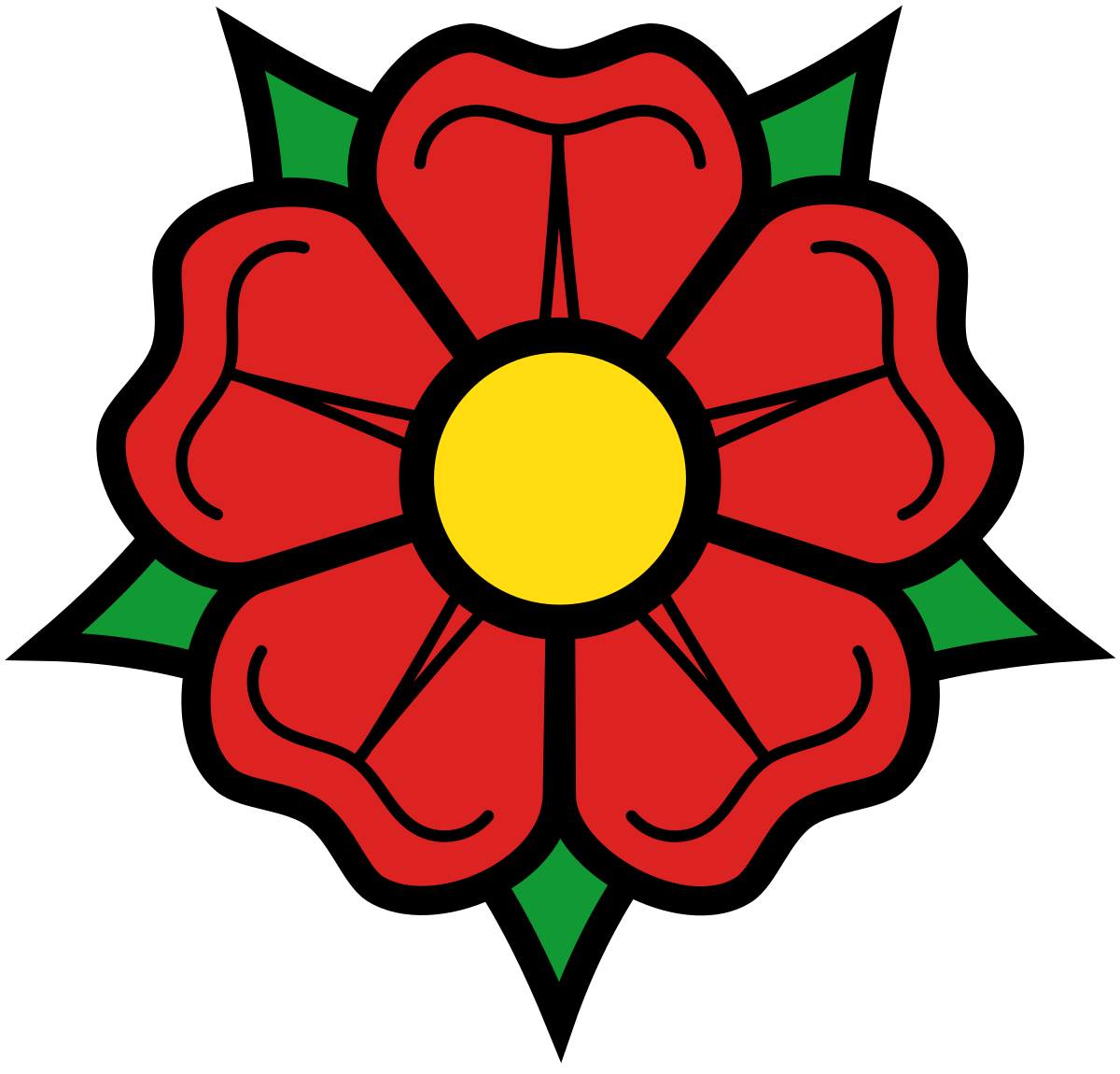 Poppy clipart stylized. Rose heraldry wikipedia
