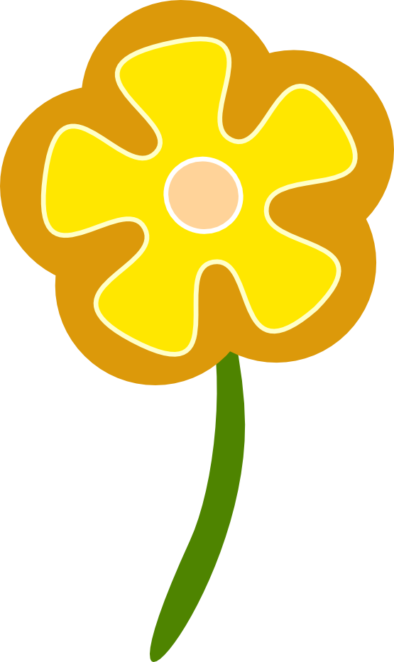 Poppy clipart stylized. Free orange flower download