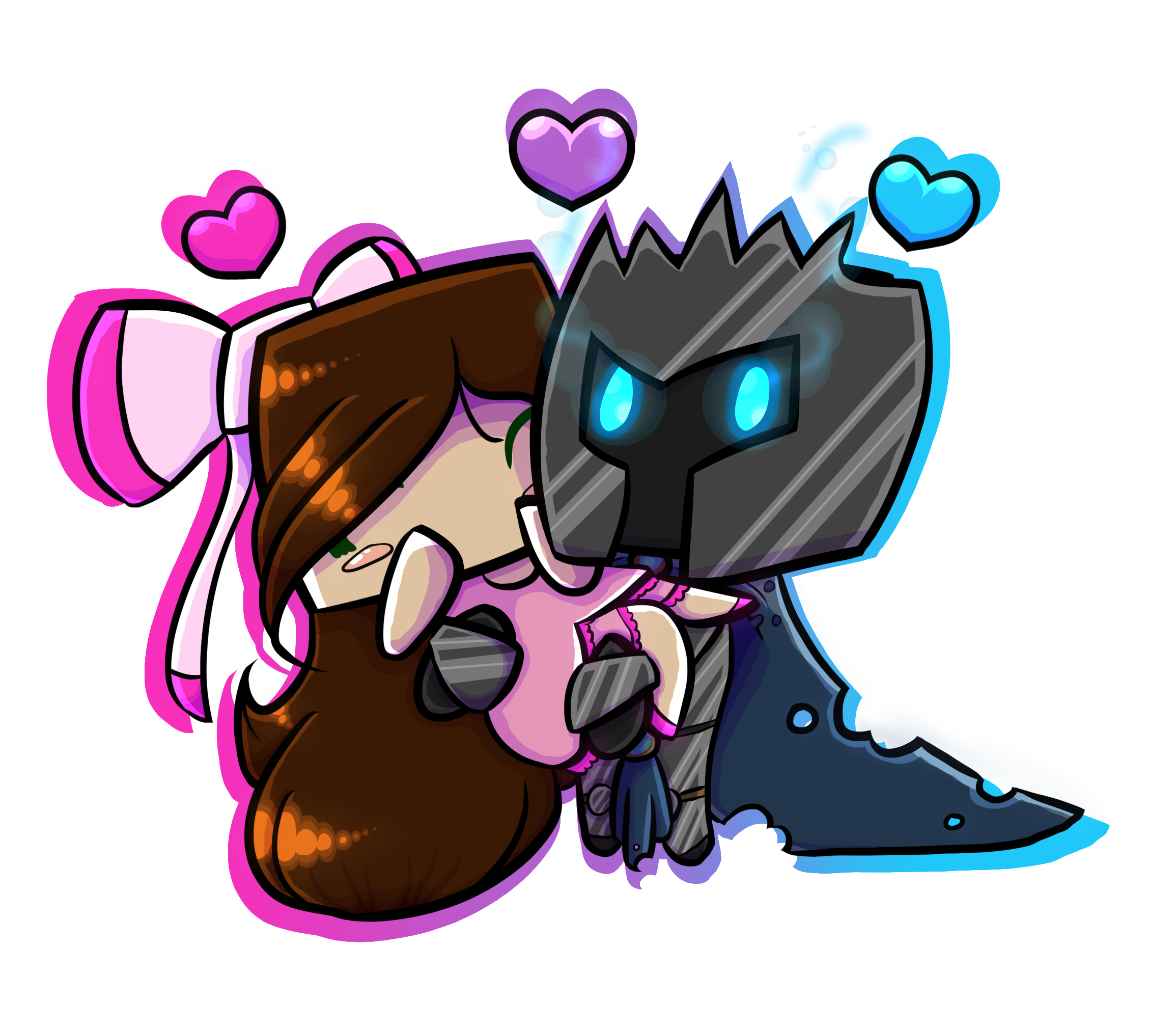 Popularmmos drawing kissing jen. Pat x by on