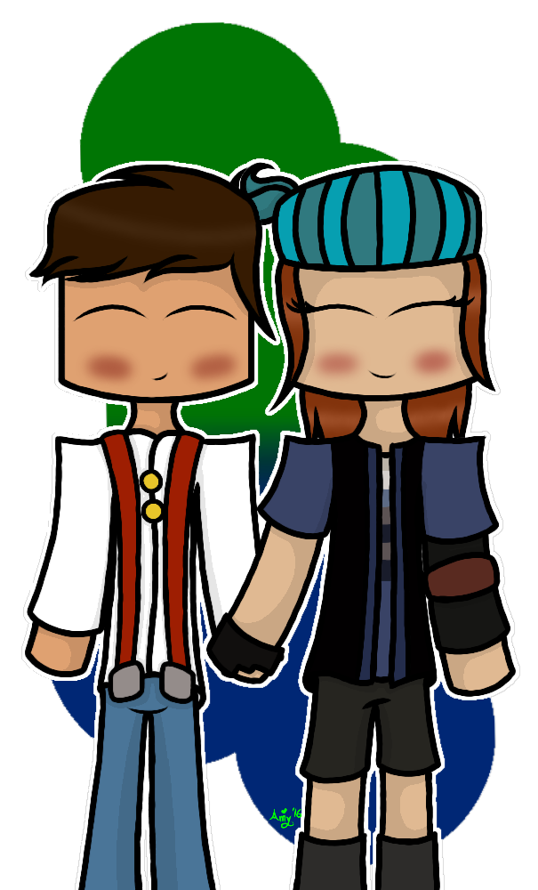 Popularmmos drawing minecraft story mode. Jesse x petra redraw
