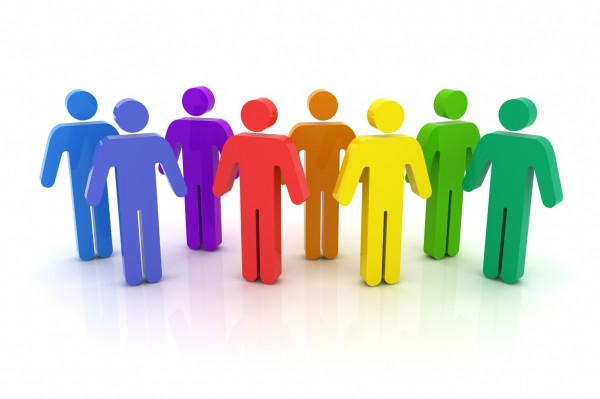 Population clipart 20 person. People gathering group free