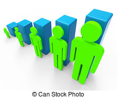 Population clipart. Increase clip art and picture black and white stock