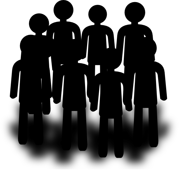 Population clipart logo. Group people clip art