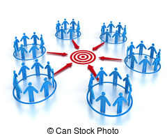 Population clipart market target. Competition stock illustration images image free stock