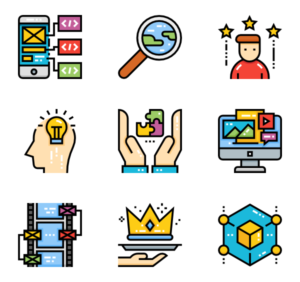 Match drawing icon. Icons free vector creative