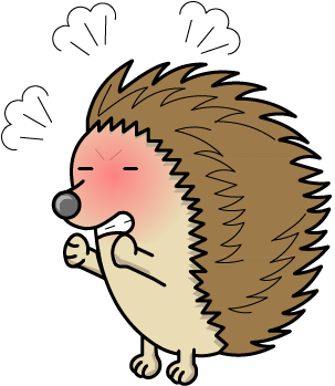 Porcupine clipart angry cartoon. Smarter about feelings emotional
