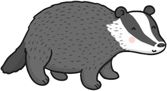 Porcupine clipart white background. Download free png badger