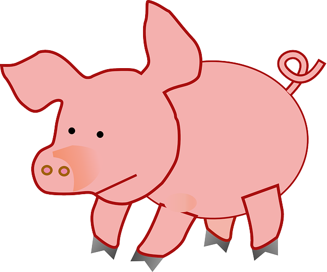 Pork drawing fat pig. Pinterest searching clipart