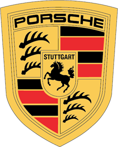 Porsche vector. Logo eps free download