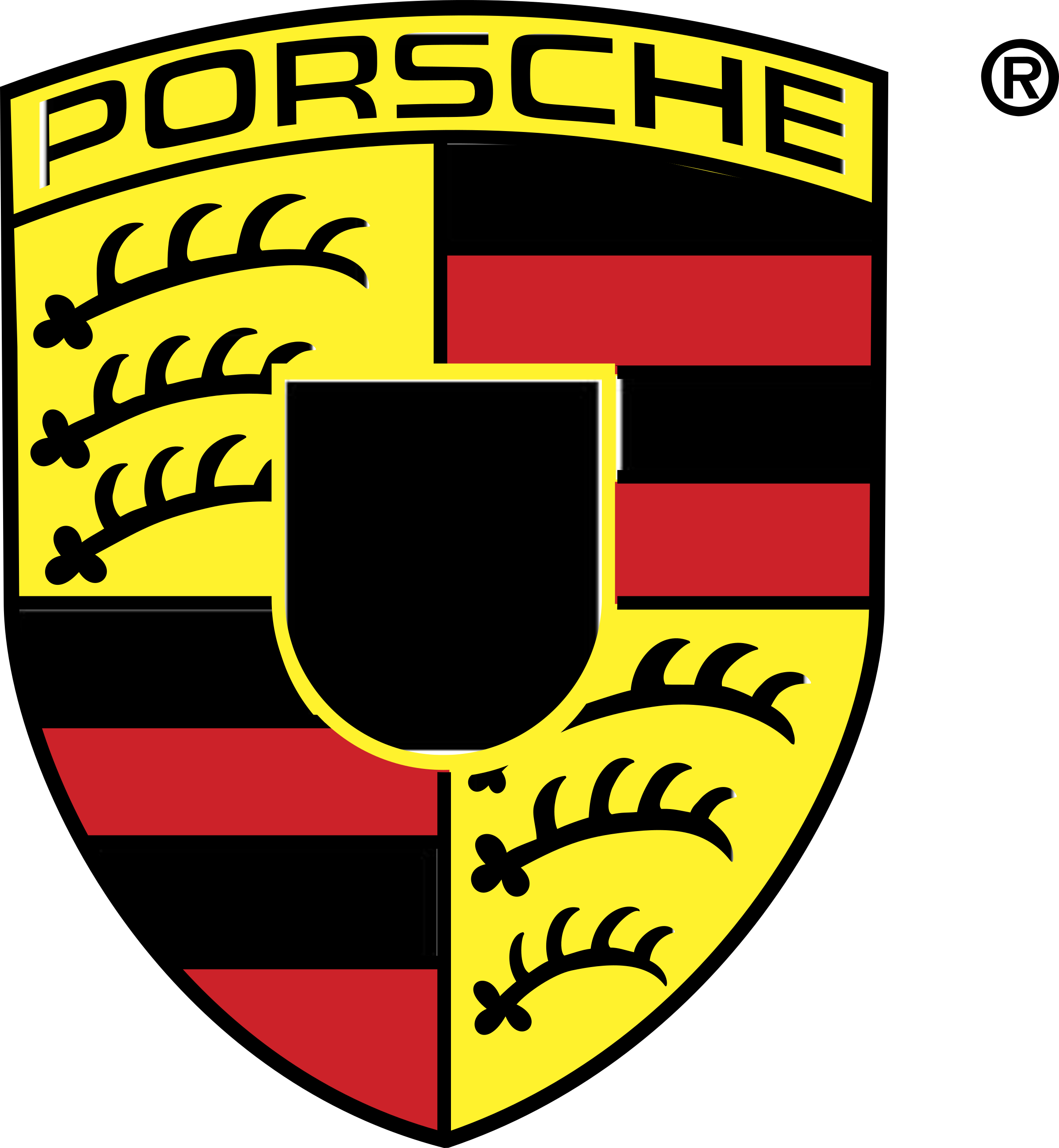 Porsche vector clipart. Logo png transparent svg